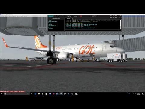 FSX: Sao Paulo-Brasilia | PMDG 737NGX
