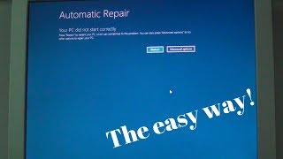 How to enter Automatic Repair, Safe Mode and VGA mode in Windows 8, 8.1 and 10 - The easy way!