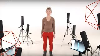 Full body scanning with Artec 3D scanners