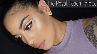 The Royal Peach Palette Review & Makeup Tutorial | Kylie Cosmetics | Kylie Jenner