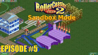 "RCT2 ""Sandbox Mode"" - [#5] Creepy Ghost Train OF DEATH!"