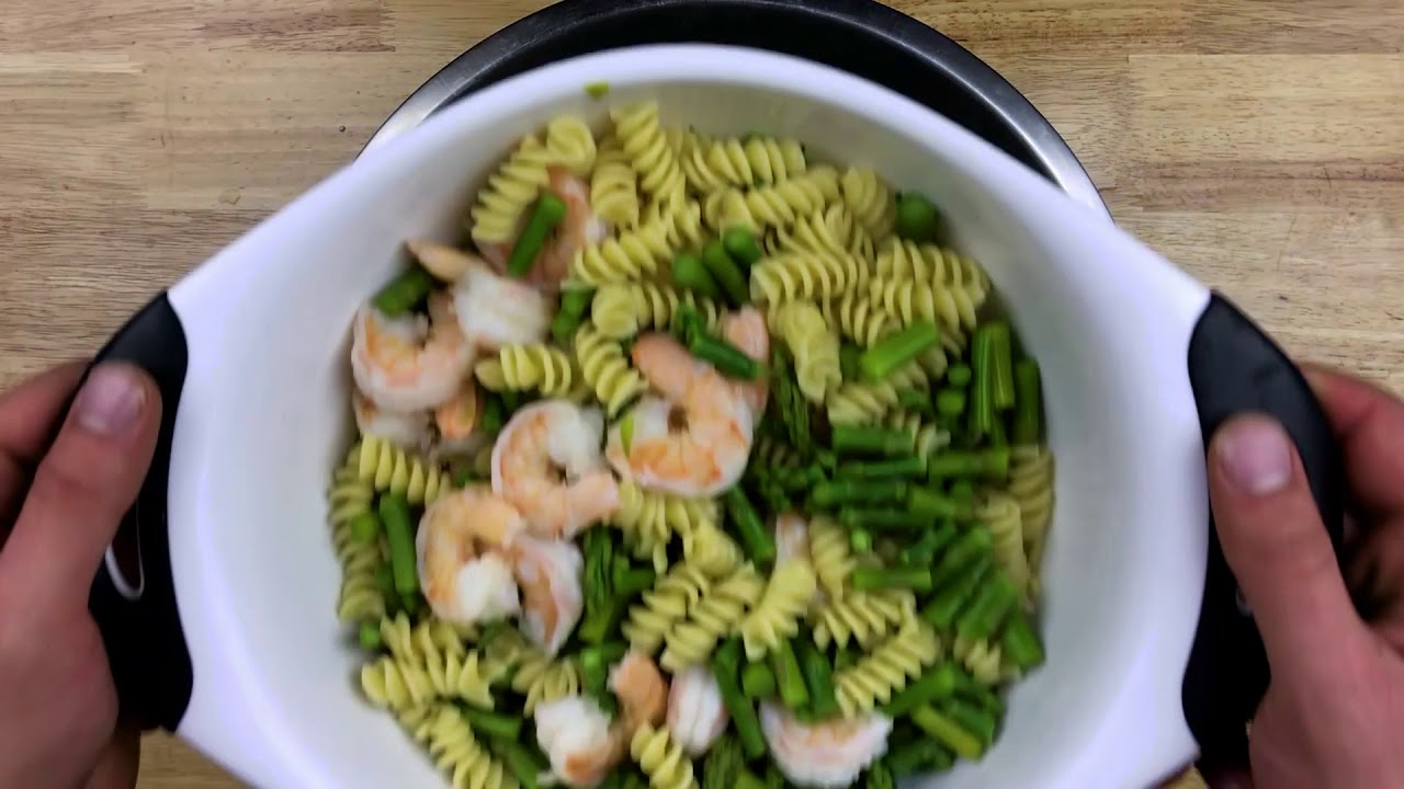 The Best Shrimp Pasta Salad Youtube