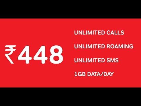 Airtel Prepaid Promise at Rs  448