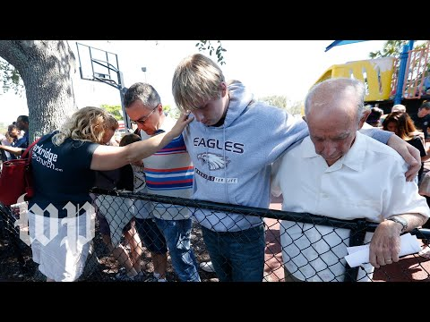 Vigil held for Florida school shooting victims