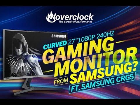 Samsung CRG5 240hz Gaming Monitor