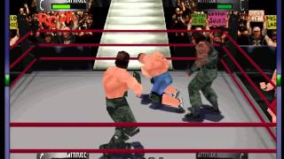 WWF WrestleMania 2000 - -CAW- Vizzed.com GamePlay - User video