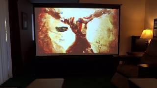 "My Ezcinema 100"" Portable Projector Screen"