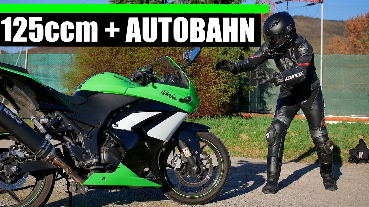 125ccm Motorrad + AUTOBAHN 🏍 MOTOSTORYS