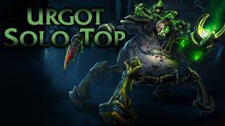 Urgot Top Lane Gameplay - Patch 10.3 (League of Legends Gameplay)