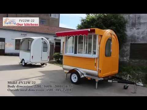 (Model FV22W)--Food Trailer Manufacturer,Australian Food Carts