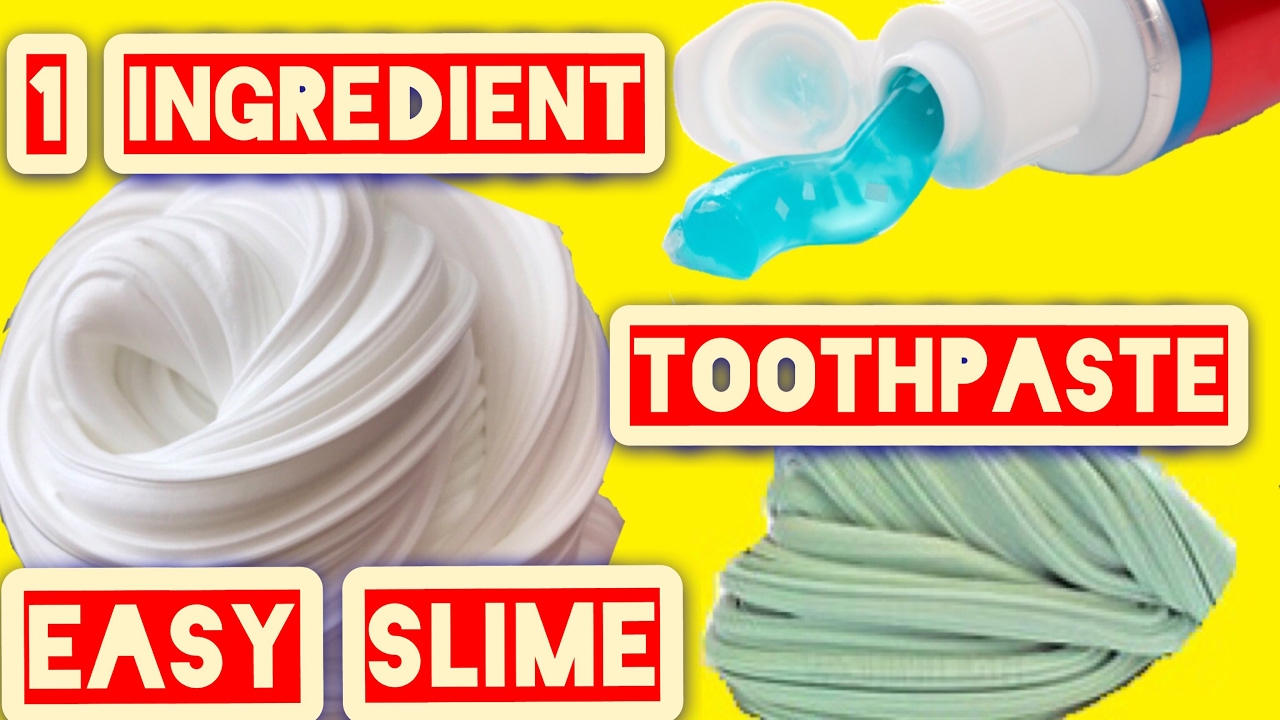 One ingredient slime with toothpaste how to make slime without one ingredient slime with toothpaste how to make slime without borax detergent liquid starch ccuart Images