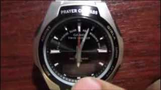 Настройка Islamic Prayer Casio CPW-500H