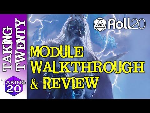 Roll20 Storm King's Thunder Module Walkthrough