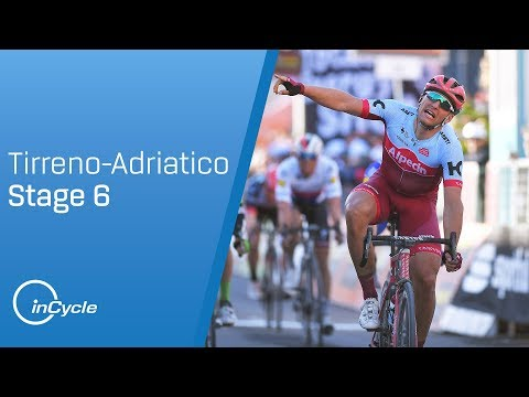 Tirreno-Adriatico 2018: Stage 6 Highlights