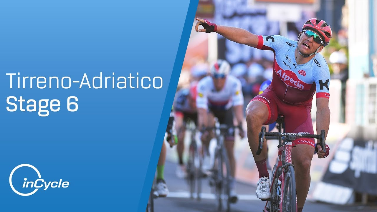 34a86e2a36f Tirreno-Adriatico 2018 | Stage 6 Highlights | inCycle - YouTube