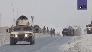 Военные НАТО погибли в результате атаки на конвой в Афганистане