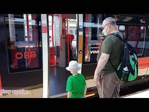 Railjet Öbb,clean And Efficient Train In AUSTRIA