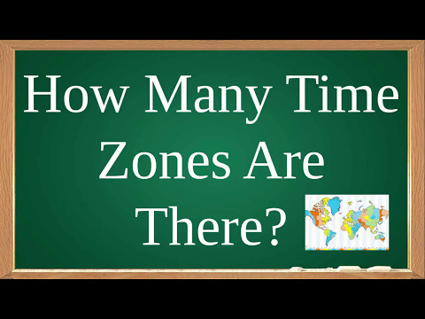 How Many Time Zones Are There