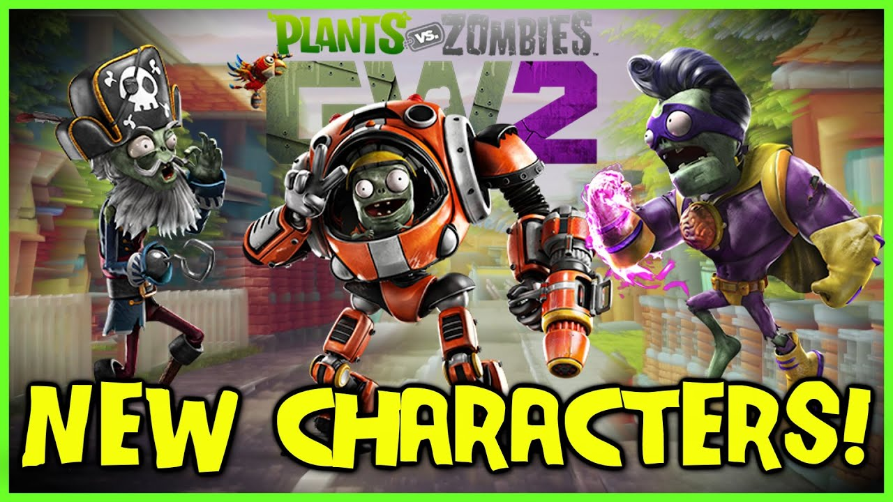 Plants Vs Zombies Garden Warfare 2 New Character Classes Gameplay Breakdown Youtube