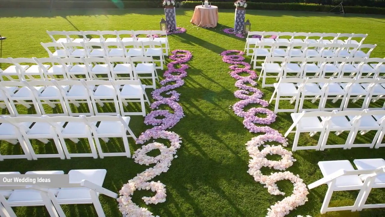 WOW – The Best Outdoor Wedding ideas
