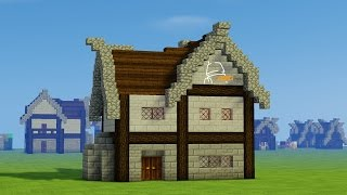 minecraft medieval french build