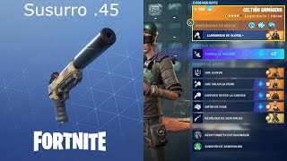 Whisper .45 / Full Guide (level 50 - power 130) Fortnite: Saving the world #416