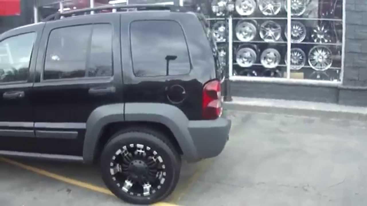 hillyard custom rim&tire 2003 jeep liberty custom 18 inch off road