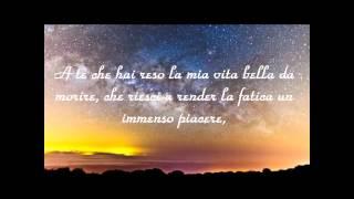 Jovanotti ( A Te ) testo - HD