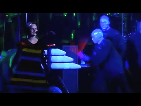 """Blue Man Group """"Does The Carpet Match The Curtains"""""""