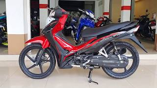 Honda wave 110i 2020 Red Black