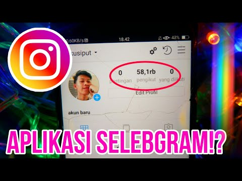 APLIKASI SELEBGRAM!! Cara Menambah Followers Instagram 2020