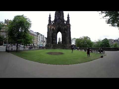 EDUC 360 Scott Monumentt Edinburgh - 360 degrees, Virtual Reality tour