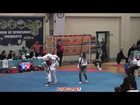 63kg Emre Ersoz vs Burak Nas (2017 Turkish Senyor TKD Championships)