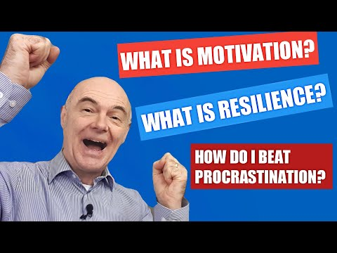 Motivation, resilience (including the Miracle of Istanbul), and beating procrastination