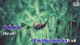 [Karaoke] Vọng Cổ Buồn - Tone Nữ - Beat Full Hd - Tít Kara