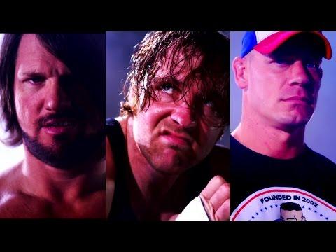 AJ Styles, Dean Ambrose and John Cena are heading to No Mercy