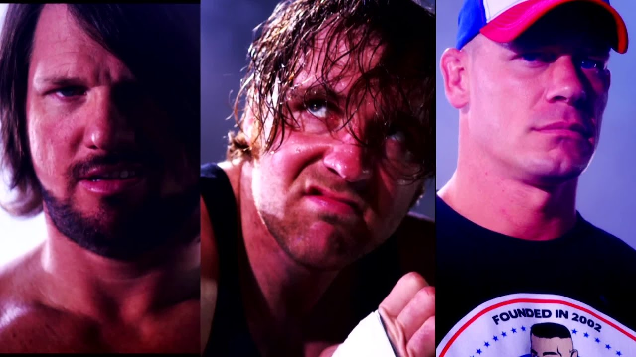 Download AJ Styles, Dean Ambrose and John Cena are heading to No Mercy