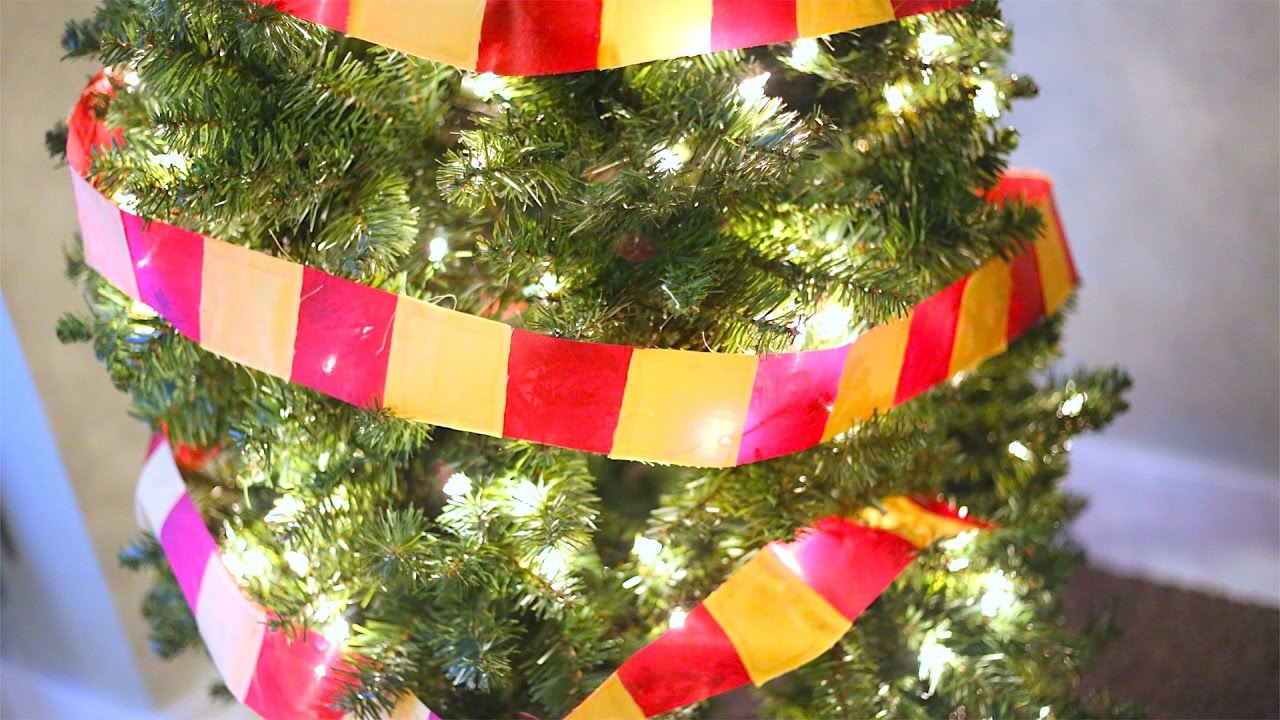 How To Make A Gryffindor House Scarf Christmas Tree Ribbon
