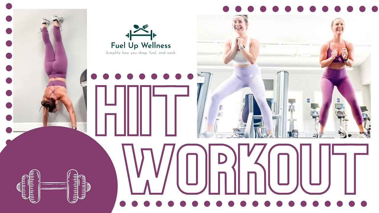 HIIT Workout-Shoulder Focus