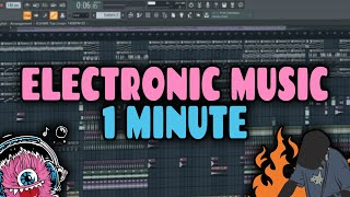 ELECTRONIC MUSIC IN 1 MINUTE