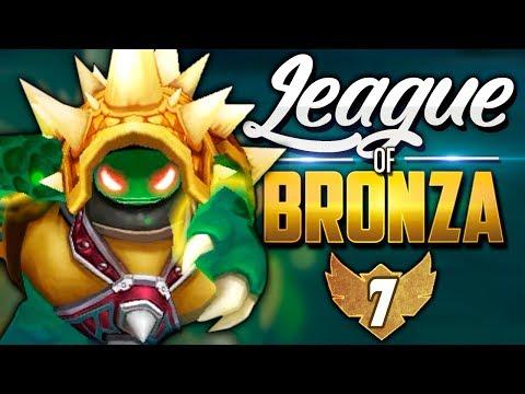 EL MEJOR ROBO DE NASHOR | LEAGUE of BRONZA #7 (League of Legends)