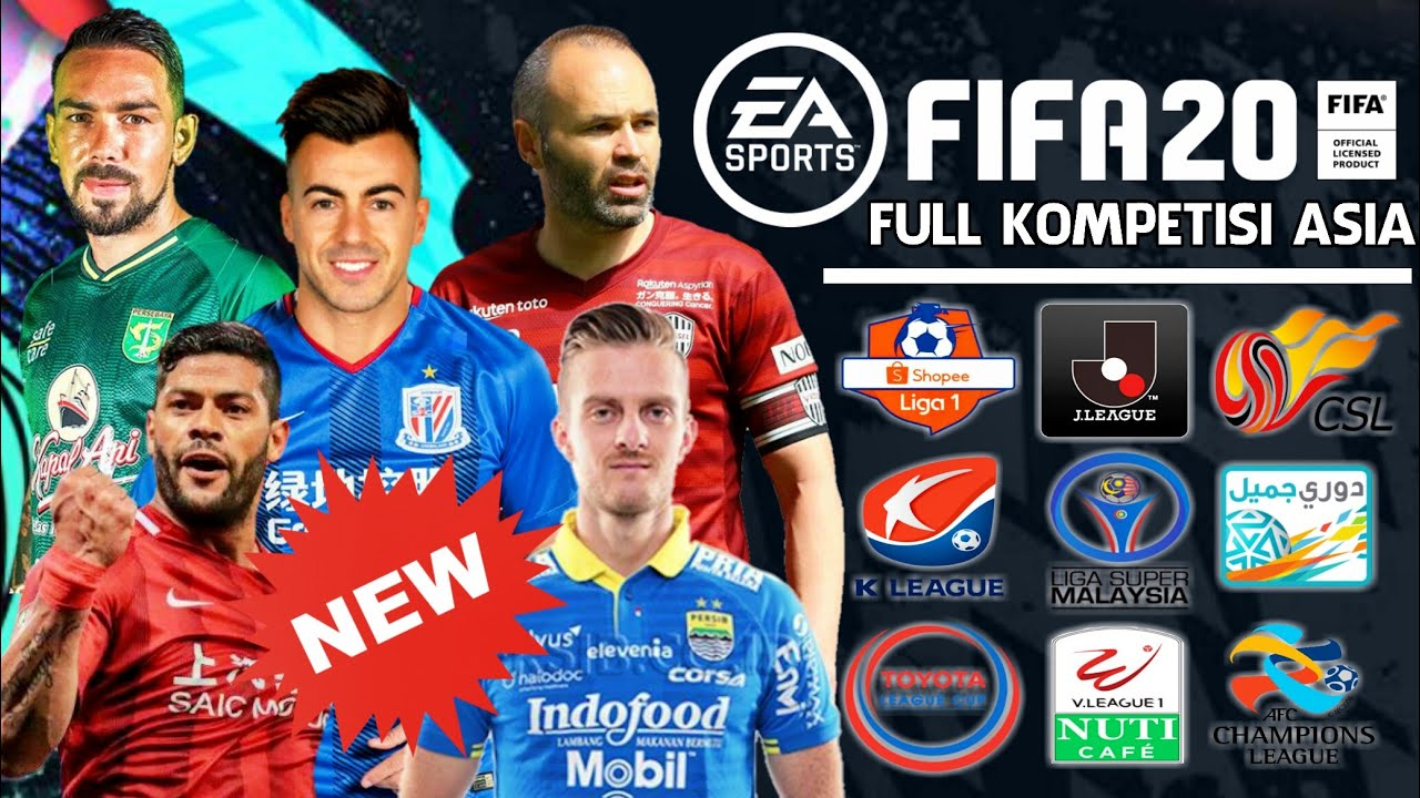 WWW.GILAGAME.NET: Download Pes 2020 Full Kompetisi Asia ...