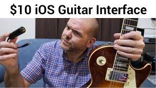 Cheap Guitar Interface for iOS (iPhone/iPad/GarageBand)