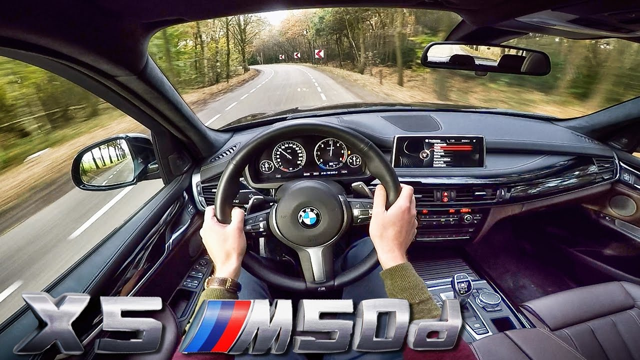 BMW X5 M50d POV Test Drive & Interior Sound - YouTube