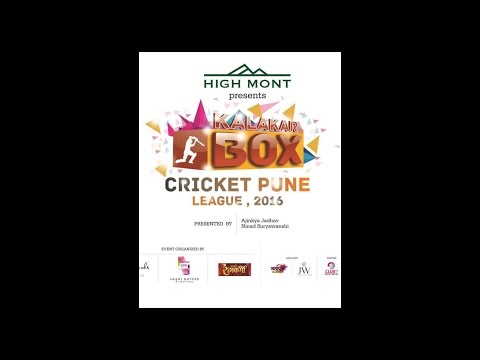 kalakar Box Cricket League -2016 PUNE (Auction)