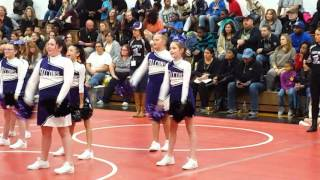 "West Side Falcons B-Team ""Hello"" Cheer"