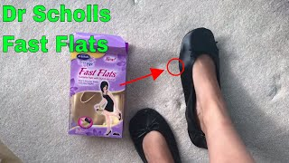 ✅ How To Use DR Scholls Fast Flats Review