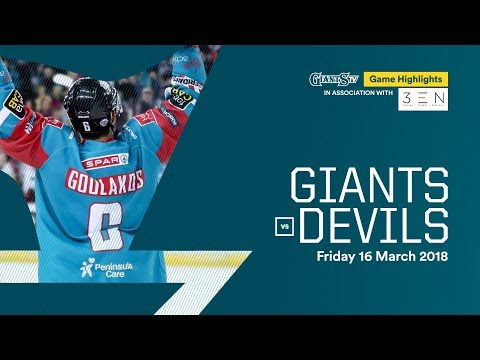 HIGHLIGHTS: Stena Line Belfast Giants v Cardiff Devils