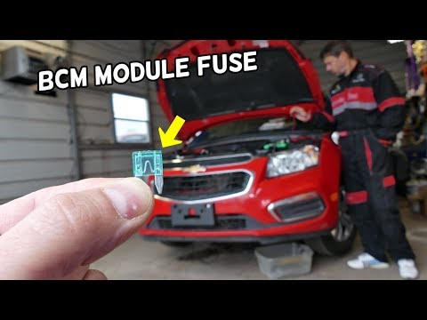 CHEVROLET CRUZE BCM MODULE FUSE LOCATION REPLACEMENT. CHEVY CRUZE BCM
