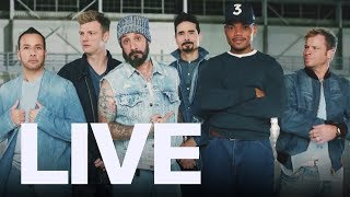 Backstreet Boys Talk Doritos Super Bowl Ad | ET Canada LIVE